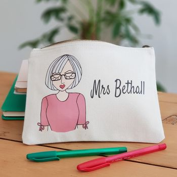 Personalised Create Your Own Teacher Pencil Case