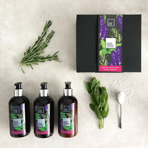 The Relaxing Lavender, Rosemary And Spearmint Gift Set - new in home