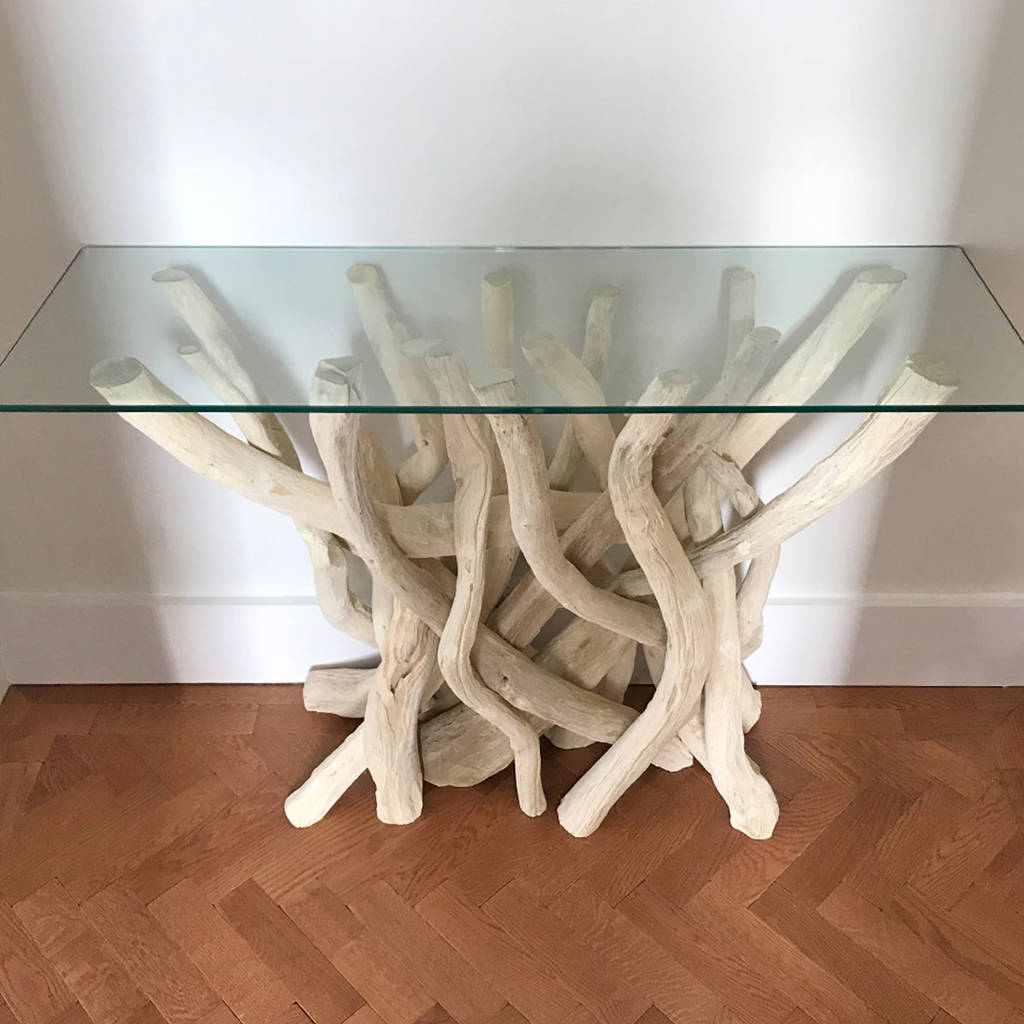 Driftwood Console Table By Doris Brixham