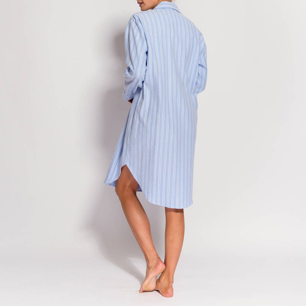 Womens Flannel Nightshirt ✓ Labzada T Shirt
