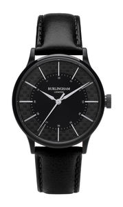 'Confluence' Black Unisex Watch - womens