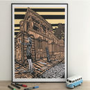 St Pancras Church King's Cross Giclee Print