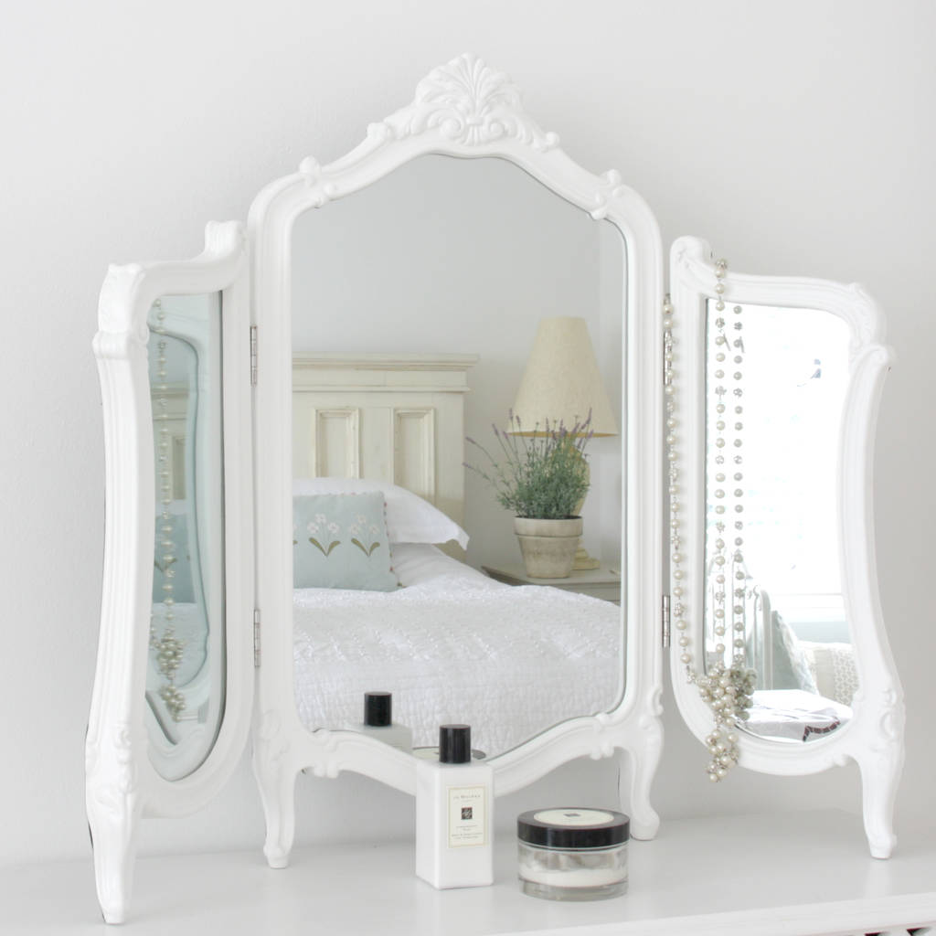 Valentina Dressing Table Mirror By Decorative Mirrors