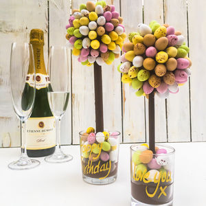 Personalised Mini Egg Sweet Tree - chocolates & confectionery