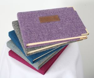 Luxury Harris Tweed Guest Books - albums & guest books