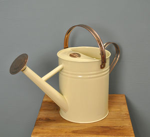 Heritage Cream And Copper Watering Can