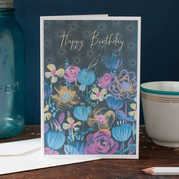 Personalised Happy Birthday Card For A Woman