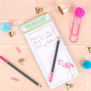Tropical Flamingo Magnetic To Do List