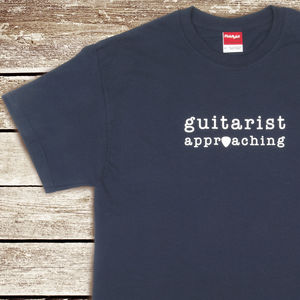 Guitarist Approaching T Shirt
