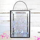 Personalised Couples Square Lantern