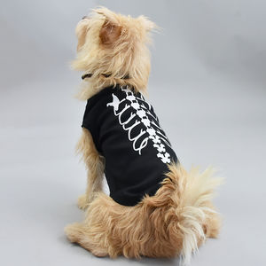 Skeleton Dog Pet Vest - pets