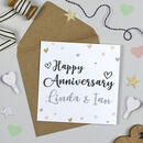 Personalised Superstar Anniversary Card