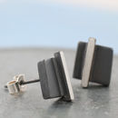 Simple everyday square earrings