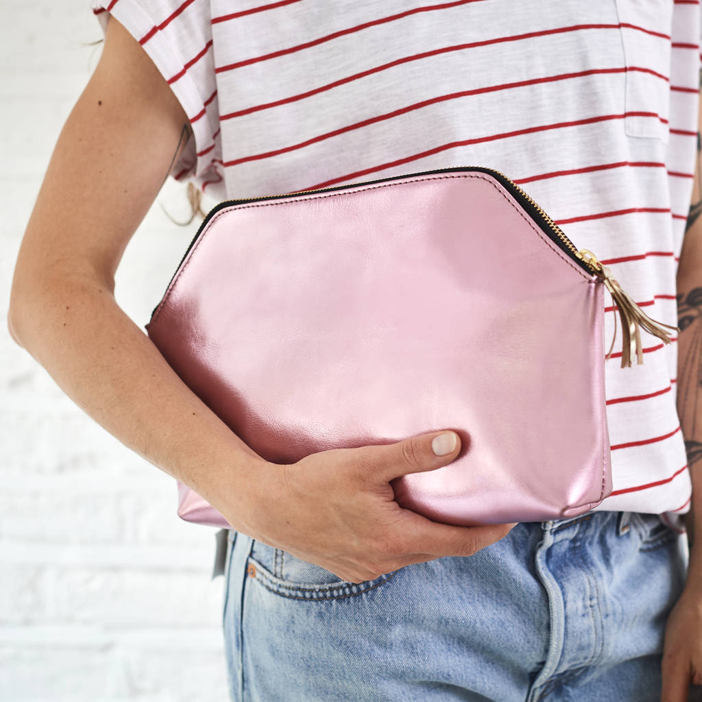 Statement Clutch - Sierra by VIDA VIDA