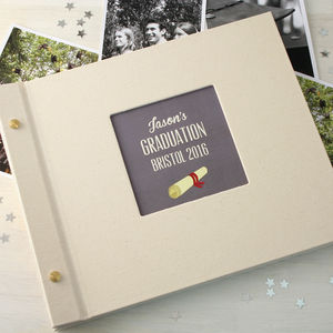 Personalised Graduation Photo Album