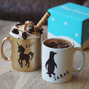 Animal Mug, Christmas Hot Choc And Marshmallows Gift