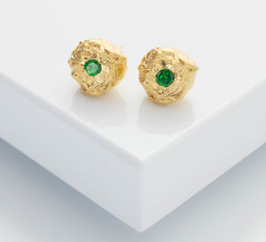Lula Tsavorite Stud Earrings