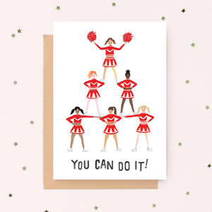 'You Can Do It!' Good Luck Card - good luck cards