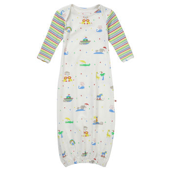Rainbow Ark Baby Nightgown