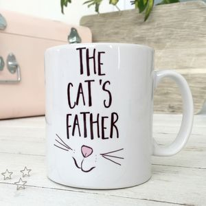 'The Cat's Father' Cat Mug - gifts for him