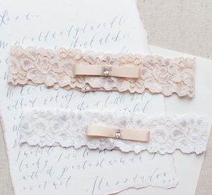 5th Avenue Lace Wedding Garter Belt - bridal lingerie & nightwear