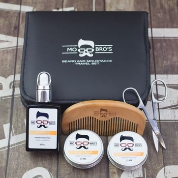 Beard And Moustache Travel Grooming Set