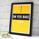 Tour De France Cycling Print