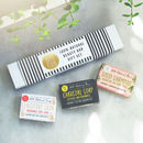 100% Natural Vegan Beauty Bar Gift Set