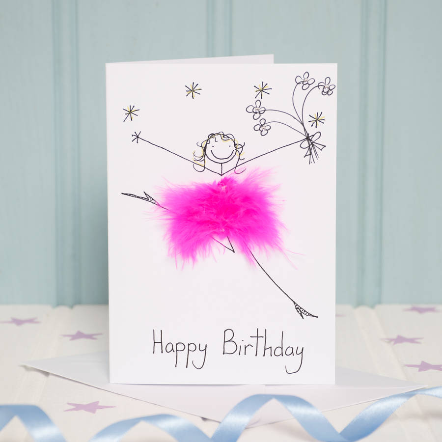 Handmade personalised happy birthday card by all things brighton flowers bookmarktalkfo Images