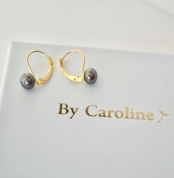 18ct Pearl Earrings