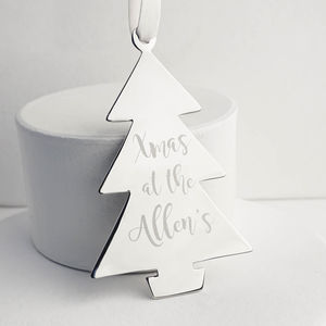 Family Christmas Tree Decoration