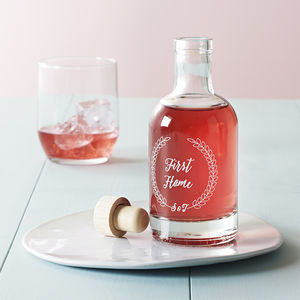 Personalised First House Celebration Decanter