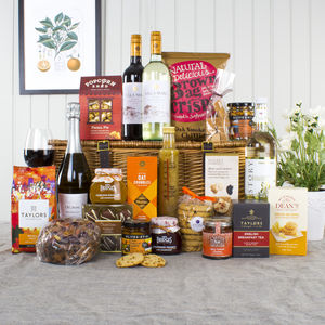 Gourmet Feast Gift Hamper With Prosecco - personalised