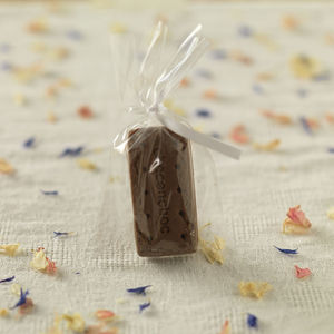 Chocolate Bourbon Party Favour - novelty chocolates