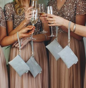 Bridesmaids Clutch Bag Gift Set Of Four - bags