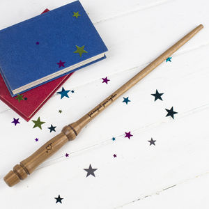 Personalised Anniversary Wooden Wand