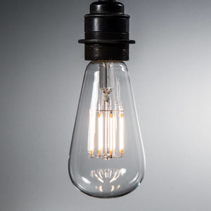 Pear Shape LED Filament Bulb | E27