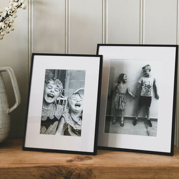 Black Fine Photo Frame