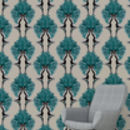 Showgirls Taupe Wallpaper