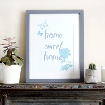 Home Sweet Home, Children's Print