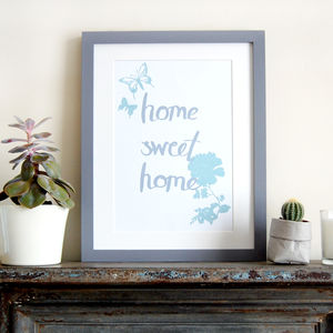 Home Sweet Home, Children's Print - family & home