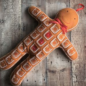 Felt Gingerbread Man Advent Calendar