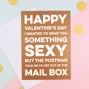 Something Sexy Valentine's Day Cards - valentine's cards