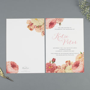 'Anthi' Wedding Stationery Collection - wedding stationery