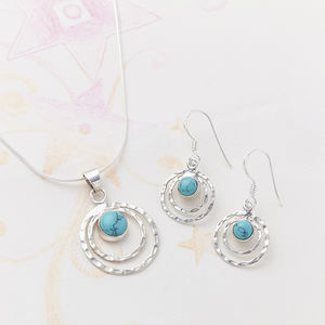 Turquoise Infinity Set - jewellery sets