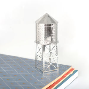 New York Water Tower Model Kit - ornaments