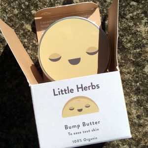 Bump Butter By Little Herbs 100% Organic - maternity