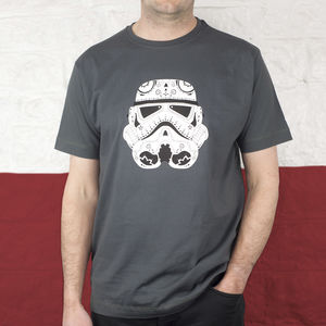 Stormtrooper Candyskull T Shirt - for your other half