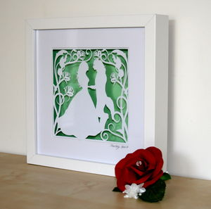 Beauty And The Beast Papercut