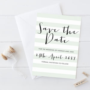 Save The Date Card Miller Collection
